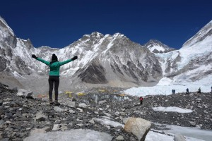 Making it to Mt. Everest base camp
