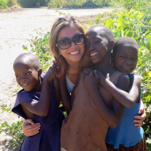 Meeting some amazing, happy and friendly kids in Malawi, Africa